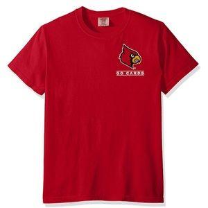 Louisville Cardinals Puff Arch Tee NWT L